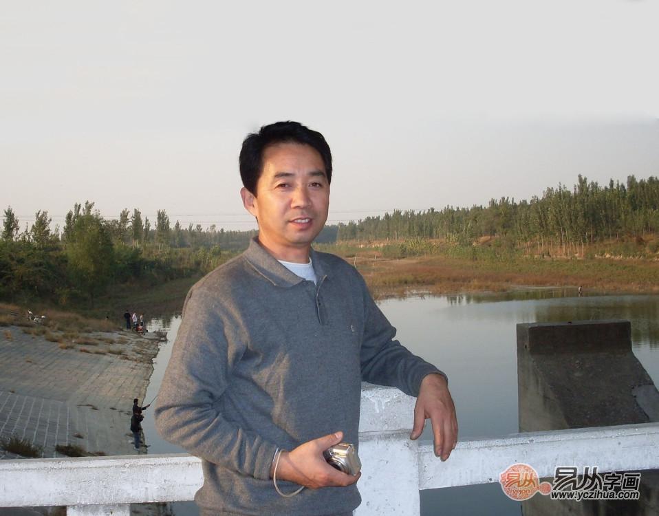 【书画名家】:中美协画家赵洪霞 写就山水大世界 献美人间都是爱