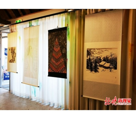 梵高之家博物館展覽吳大愷山水畫