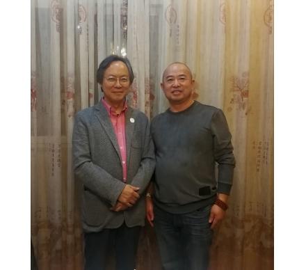 原中央工藝美院我的老師魯曉波教授現清華美院院長博士生導師