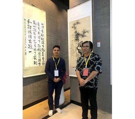 石榮祿作品參展中國書畫精品展