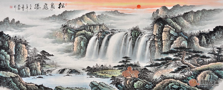 中国山水画技法之山水画松树的画法解析