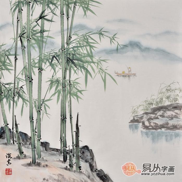 刘海青《平安吉祥》,刘海青花鸟画作品