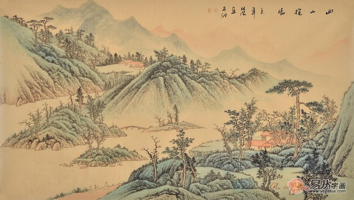 浅绛山水绘画技法详解3