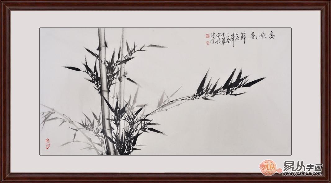 中国画--水墨竹子画作品欣赏