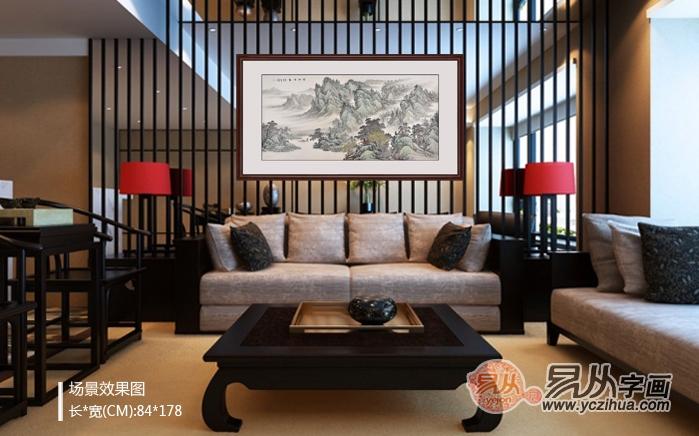 欧式客厅沙发背景装饰画?风水关乎家庭幸福