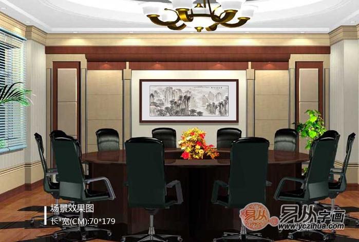 客廳墻上掛什么裝飾畫?中式客廳掛什么畫好