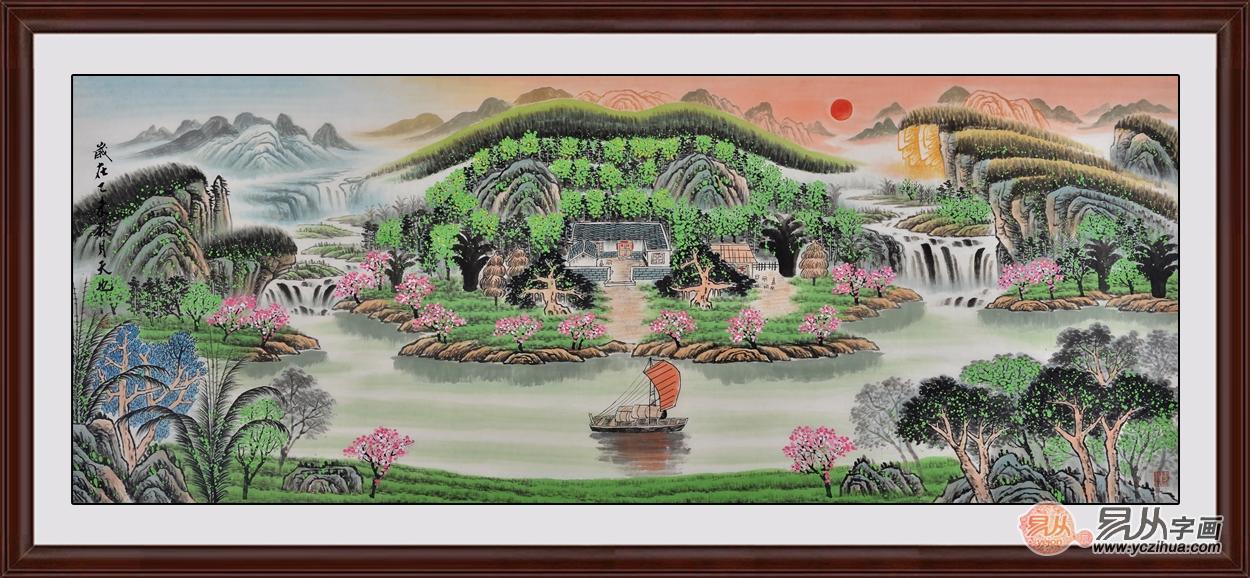 春节送亲朋长辈什么礼物,品位升值名人字画更走心