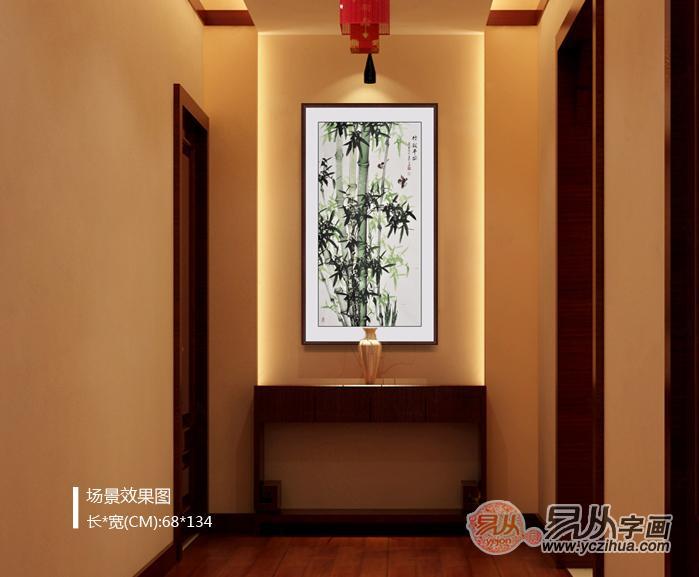 玄关雕刻竹子装修图片大全图片