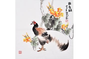 北宋书画家崔白:擅长写生图片
