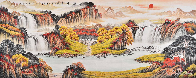 山水画图片欣赏(图)