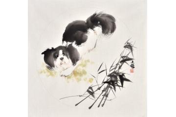 茶楼王文强动物画-【易从网】