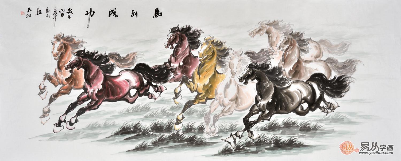 易水老师的动物画作品  构图严谨,笔墨精湛,主要是以写意为主,动物形