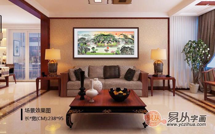 中式酒店装饰字画 广州卖装饰画的地方