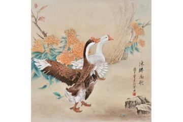 家居装饰走廊500元以下动物画-【易从网】