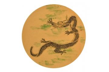仇谷斗方工笔动物画