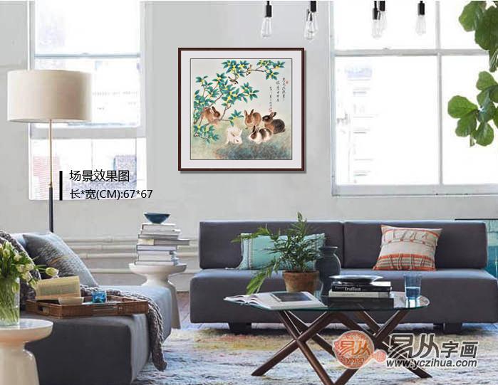 羽墨先生的工笔动物画
