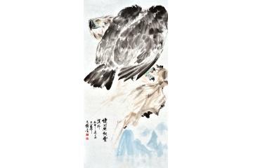 王文强写意动物画