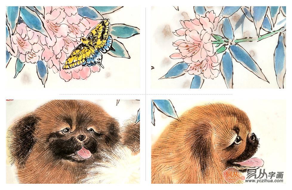 当代画家羽墨动物画精品赏析