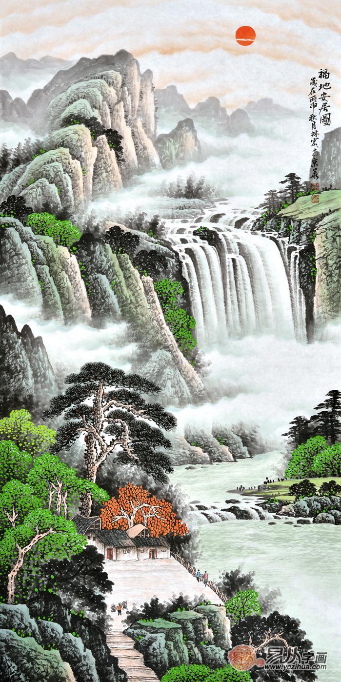 国画山水画中的树该如何画