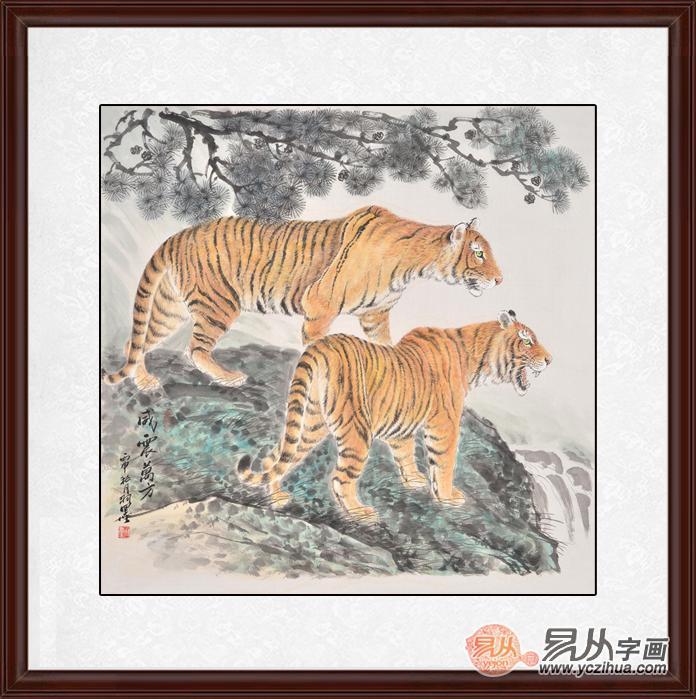新生代画家羽墨动物画收藏,每一幅都是精品