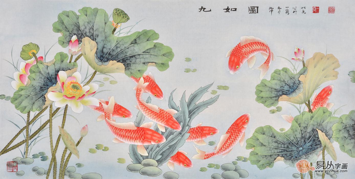 在我们生活中鱼是很常见的动物