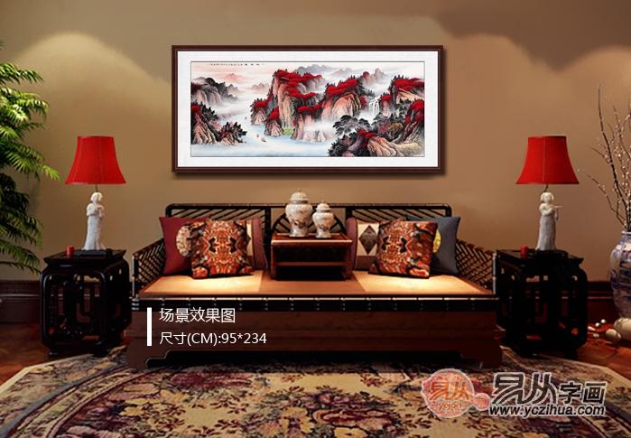 吉利招财富贵风景图片