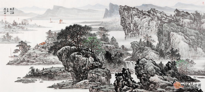 当代哪位画家的国画山水画收藏价值高