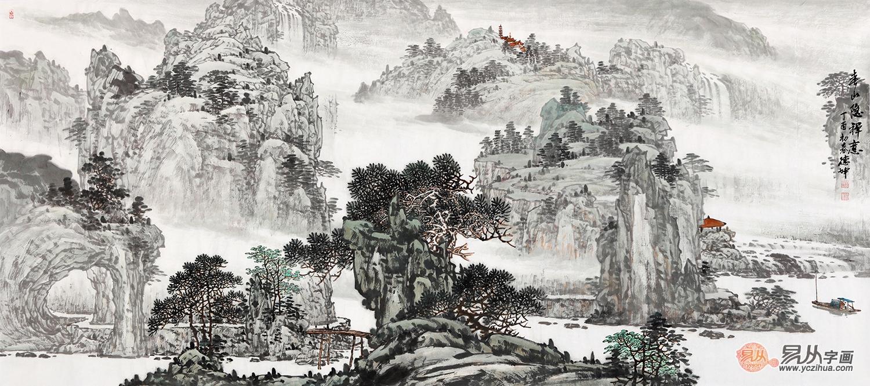 醉心山水---记著名山水画家林德坤