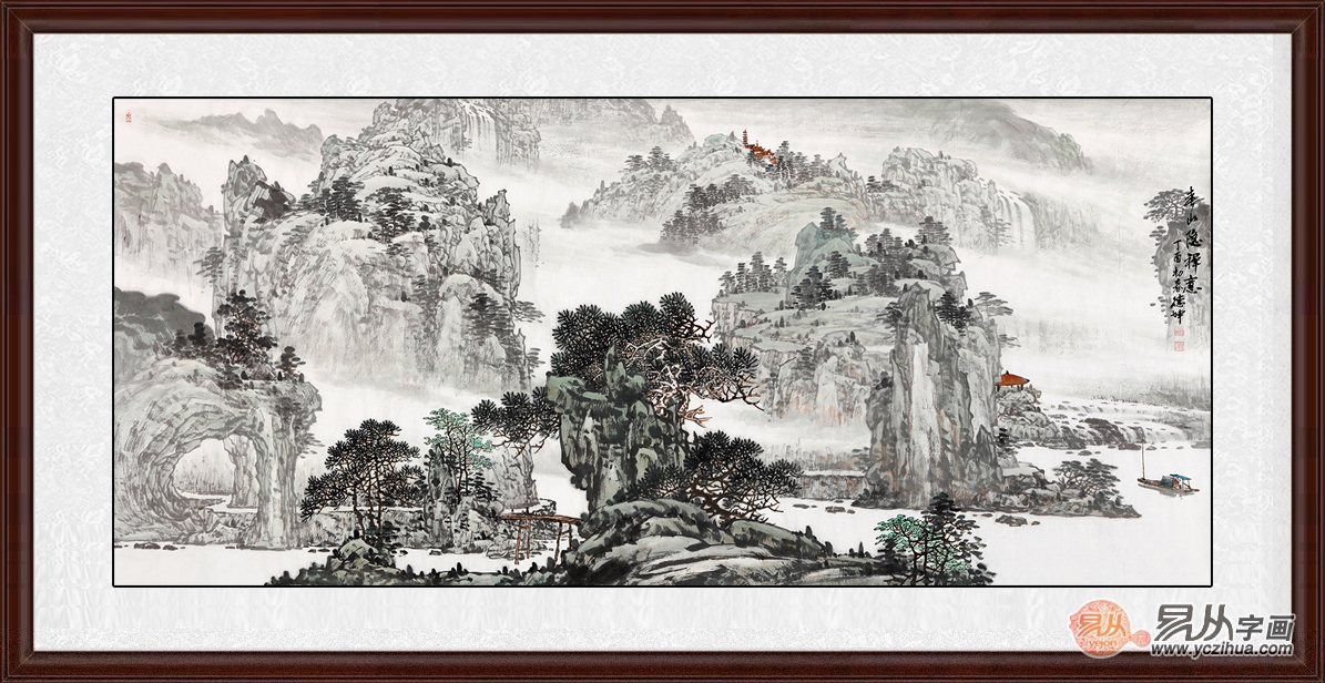 大厅墙壁风景画风水