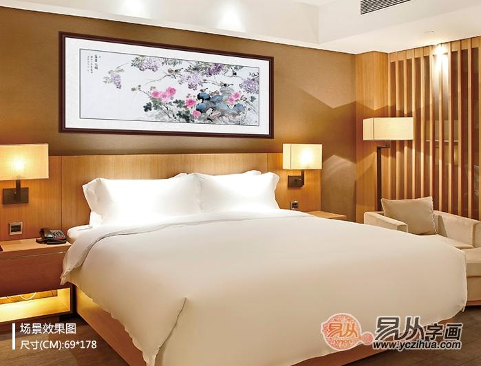 极具美感,分享适合卧室挂的花鸟画题材