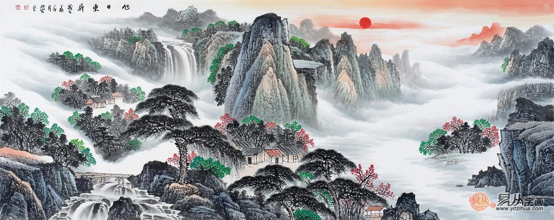 """""""写意中国""""2017中国国家画院国画,书法篆刻作品郑州巡展"""