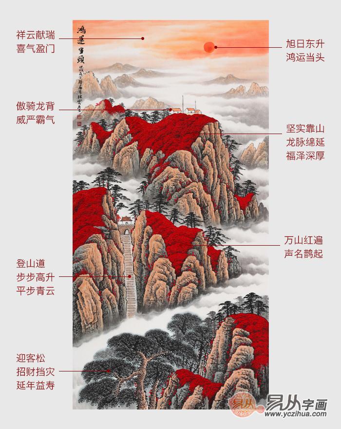中国山水画十大画家_正对大门挂什么画好挂画有学问_易从资讯_新闻资讯_【易从网】