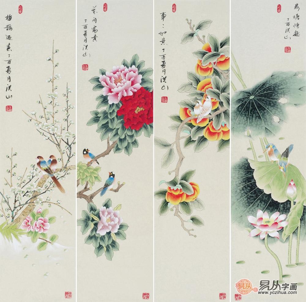 幼儿园梅花主题墙图片