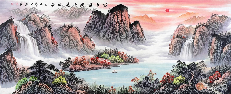宋唐的松树山水画怎么样?值得收藏吗