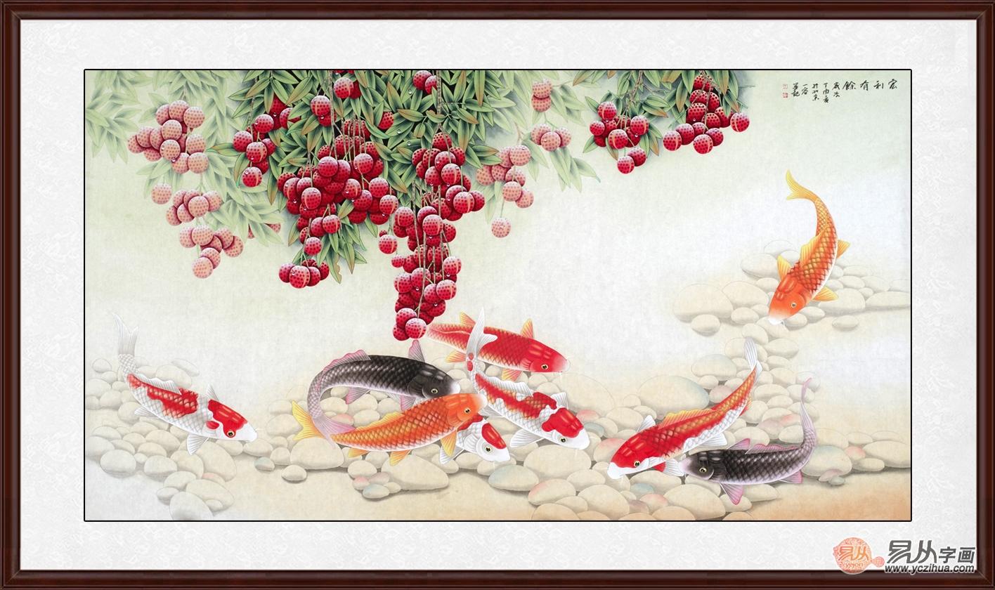 客厅可以挂哪些画  花鸟画让你的家更有档次