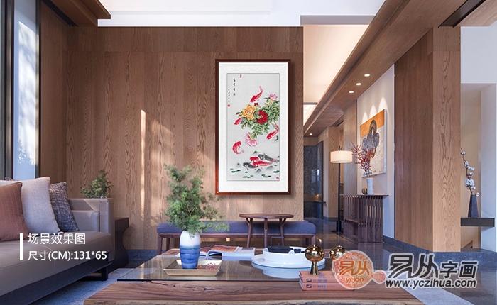走廊玄关适合挂什么画 国画花鸟画家居亮丽好选择