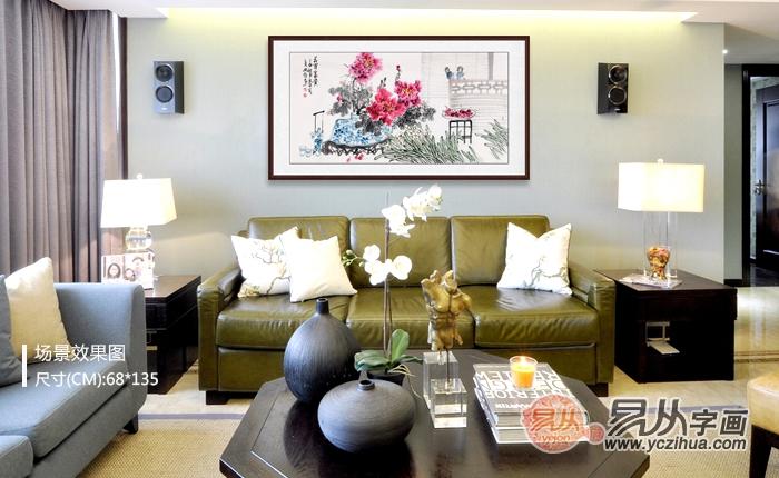 客厅沙发墙挂花鸟画 这三款莫错过了