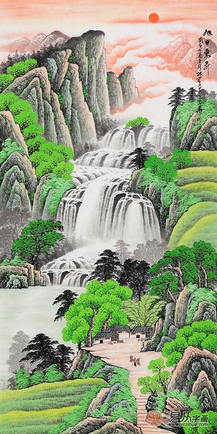 李林宏山水画作品欣赏 李林宏 山水画