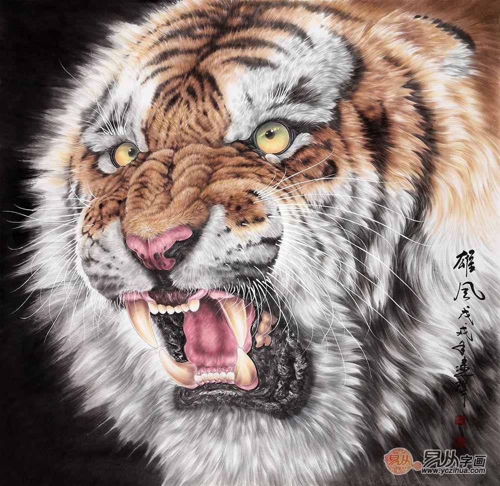 王建輝動物畫收藏價值