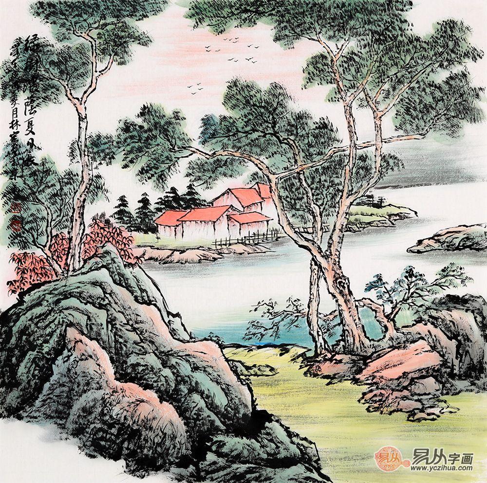 实力派画家李林宏山水画作品欣赏 李林宏 山水画