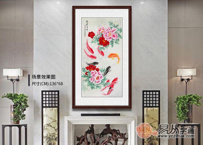 玄关装饰画挂什么好 吉祥的花鸟画打造家居好景色