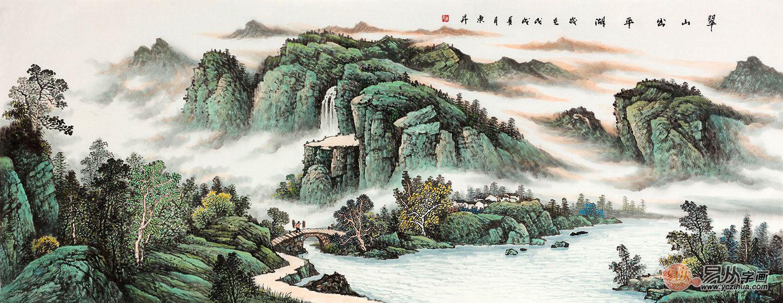 山水画的鼎盛时期,宋代山水画的发展
