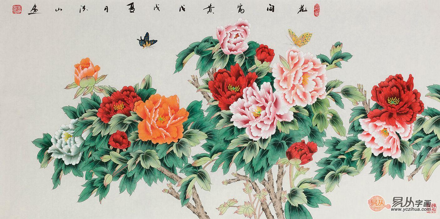 中式客厅适合挂什么画 花鸟画吉祥打造好风景