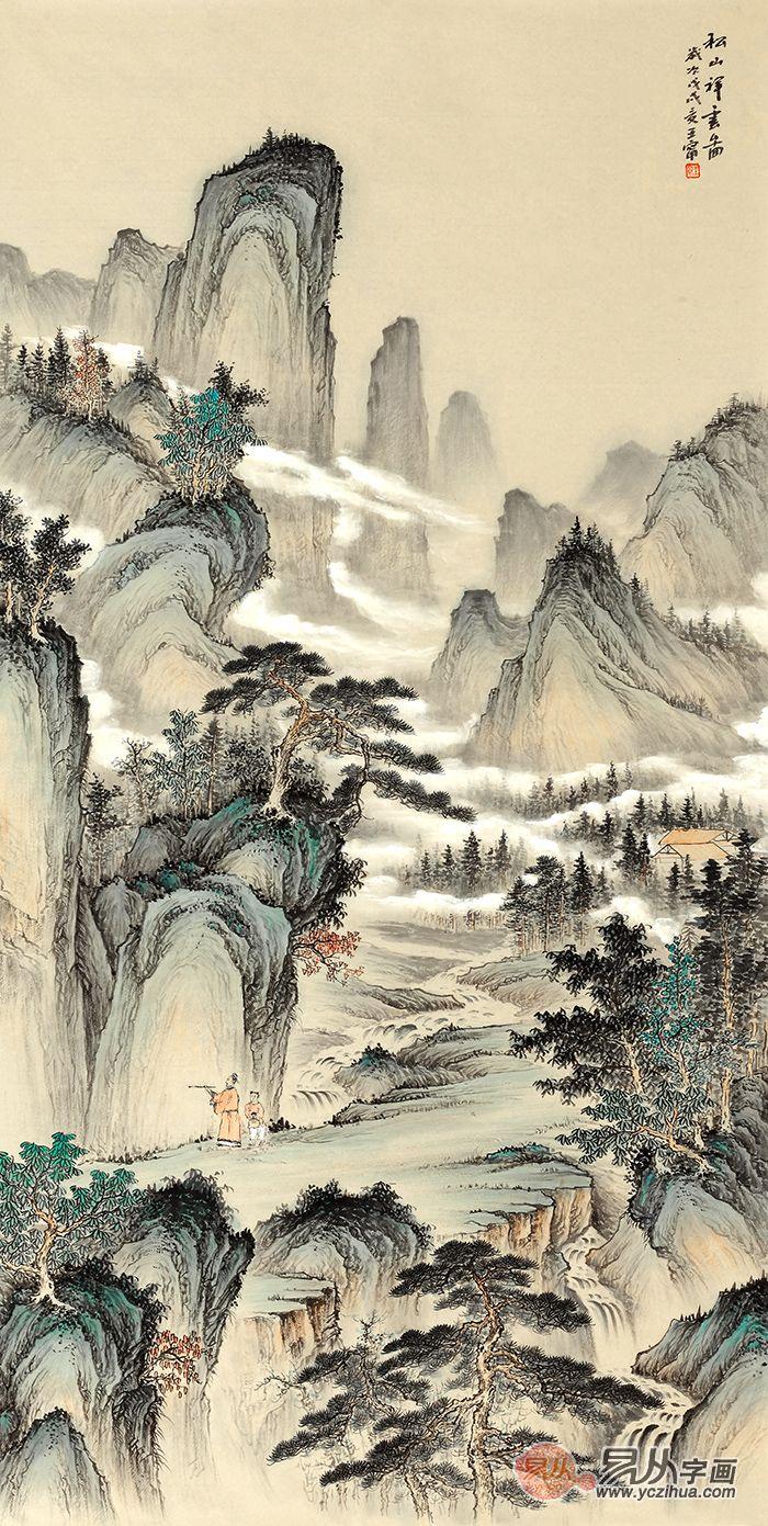 玄关画有什么讲究 山水画让玄关无可挑剔