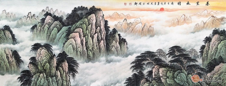 客厅风水挂画——东、南、西、北四大方位挂画有讲究