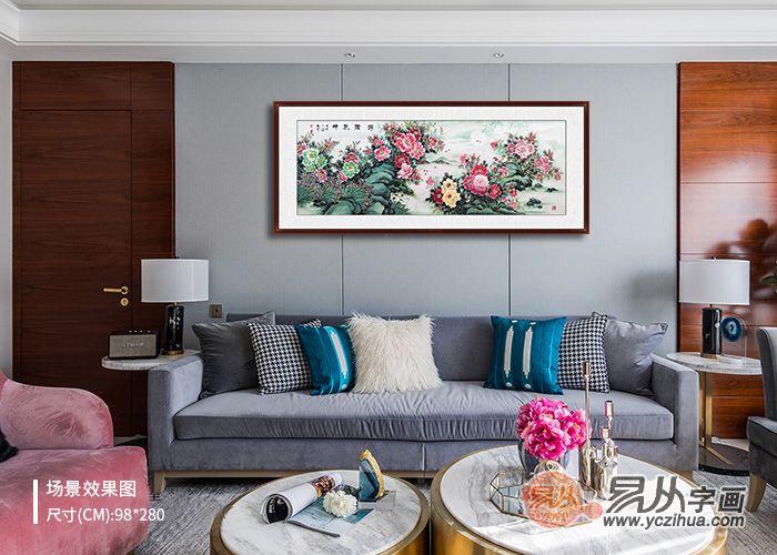 客厅装饰挂画挂什么好 软装精致三款挂画分享