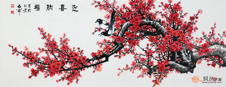 结婚送礼送什么字画好 送礼送祝福就选花鸟画