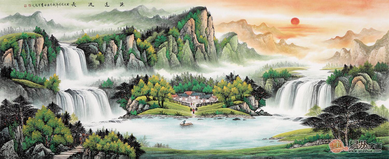 了解这些山水画鉴赏知识,读懂山水,读懂画家