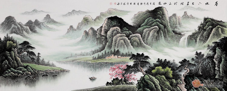 李林宏山水画作品赏析 李林宏 山水画