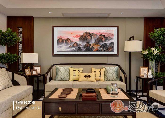 客厅墙上挂什么好 王宁的画怎么样